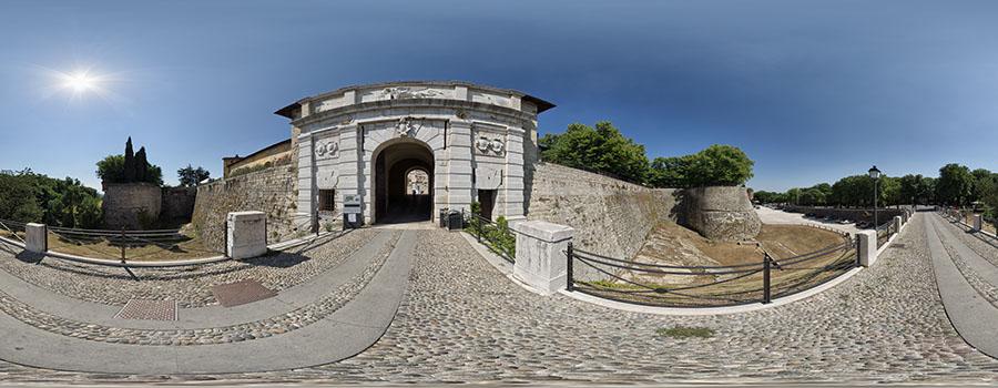 Brescia Castello Eingang