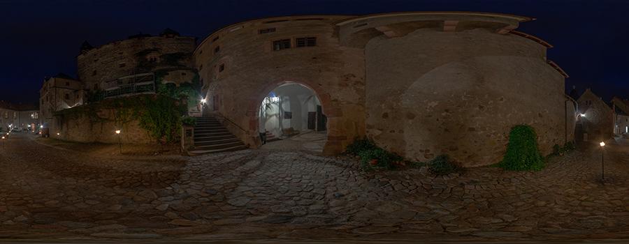 Burg Kriebstein bei Nacht II